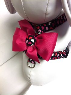 The Colorful Love XS Adjustable Pet Harness by LuLusCollars, $17.00