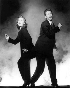 Scully and Mulder :)