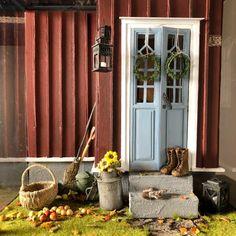 Salla skapar miniatyrvärldar man vill bo i   Hobby och hantverk   svenska.yle.fi