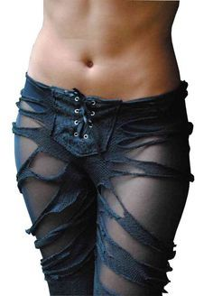 A good thing to think about, at one time i would have looked good in this! Ha Ha Ha leggings fetish sexy gothic steampunk punk costume by fafastyle,