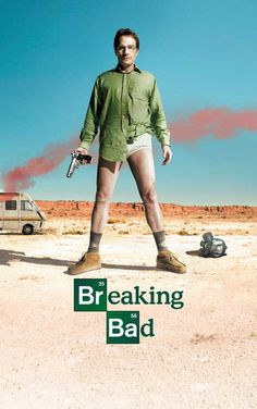 It doesn't happen all that often, but this one got me hooked at first glance. Bryan Cranston isn't Malcolm's dad anymore, he's Heisenberg.