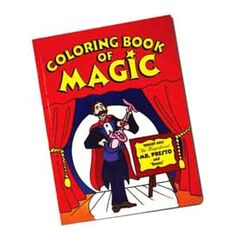 Magic Coloring Book Trick- an easy to do magic trick for the birthday child, from MagicTricks.com . Let your child be the magician and the STAR at his or her own party!