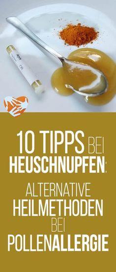 10 Tipps bei Heuschnupfen: Heilmittel bei Pollenallergie