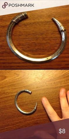 Pencil bracelet Silver pencil bracelet! Very cute! ModCloth Jewelry Bracelets