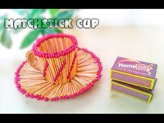Coisas que Gosto: Como fazer Matchstick Cup