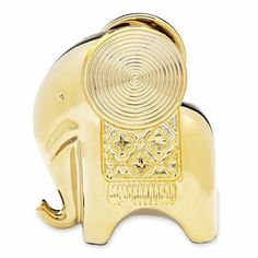 Happy Chic By Jonathan Adler Catherine Gold Elephant Bank - jcpenney
