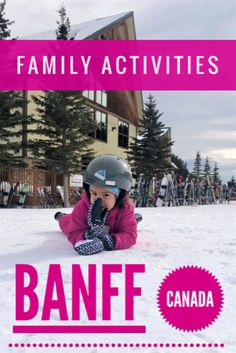 Looking for family vacation ideas in Canada? Why Banff family activities will have you heading to Alberta where fun can be found no matter the age. Find Banff activities and things to do in Banff for your multigenerational family holiday. Banff Activities, Family Activities, Toddler Activities, Toddler Travel, Travel With Kids, Family Travel, Family Vacations, Quebec, Vancouver