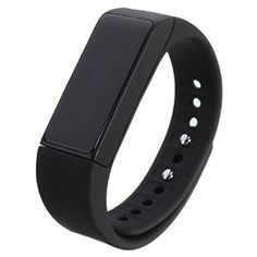 $32.98 Amazon.com : LOPEZ 2016 New Fashion Smart Bracelet Fitness Sport Wristband Calorie Wireless Fitness Pedometer Tracker Bluetooth with Steps Sleep Monitoring for Gift Watch Bluetooth 4.0 for Android IOS iPhone-black : Sports & Outdoors