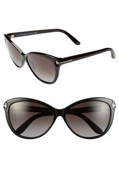 'Telma' 60mm Cat Eye Sunglasses