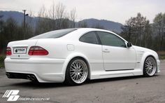 PRIOR-DESIGN Widebody Aerodynamic-Kit for Mercedes CLK [W208] - PRIOR-DESIGN Exclusive Tuning