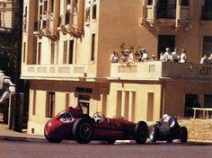 Monaco 1958 Ancora Hawthorn che bracca Moss