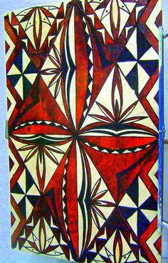 Tapa Polynesian Designs, Polynesian Art, Polynesian Culture, Elements Of Art, Design Elements, Samoan Patterns, Tongan Culture, Native Design, Maori Art