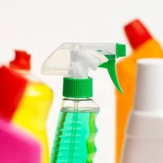 The Worst Household Cleaners for Your Health ... Mop & Glo Multi-Surface Floor Cleaner ... Tarn-X Tarnish Remover ...Simple Green Concentrated All-Purpose Cleaner ...Scrubbing Bubbles Anti-Bacterial...Glade &  Air Wick Air Fresheners... Clorox, Fantastik, Febreze, Formula 409, Easy-Off, Lysol, Mr. Clean and Spic and Span spray cleaners...Static Guard...Comet Disinfectant Cleanser Powder...Spic and Span Multi-Surface and Floor Cleaner...Lysol Neutra Air Freshmatic... ETC check article