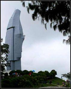 Bello Monumento a la virgen de La Paz, Trujillo, Venezuela