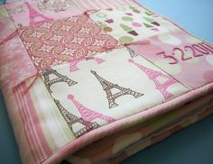 Baby Girl Blanket Hand Embroidered Custom Heirloom by dolcedreams, $145.00