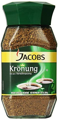 Jacob's Coffee Jacobs Kronung Instant, 7.05-Ounce (Pack of 2) *** Read more details by clicking on the image. #Coffee