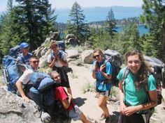 10 great Tahoe hikes for kids - Doing Eagle Falls up to Eagle Lake, but keeping this in case they want to do more.