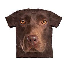 Chocolate Lab T-Shirt Kids