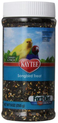 Kaytee Pet Products BKT100502991 Forti-Diet Pro Health Songbird Canary and Finch Treat, 9-Ounce - http://www.bunnybits.org/kaytee-pet-products-bkt100502991-forti-diet-pro-health-songbird-canary-and-finch-treat-9-ounce/