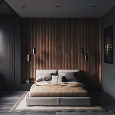 88 Unordinary Wood Bedroom Design Ideas With Elegant Decoration Interior Design Examples, Interior Design Inspiration, Decor Interior Design, Design Ideas, Bedroom Inspiration, Luxury Home Decor, Luxury Interior, Pastel Interior, Interior Shop