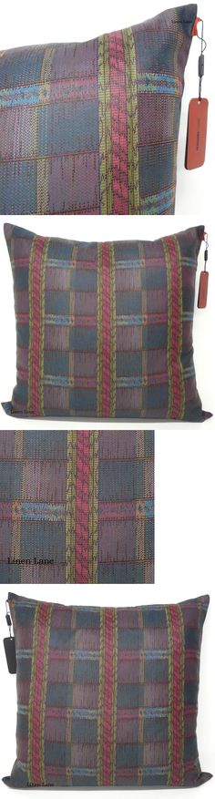 Decorative Bed Pillows 115630: Missoni Home Tessuto Decorative Cushion Pillow Nwt Italy 26 Woven Color Feather -> BUY IT NOW ONLY: $129.6 on eBay!