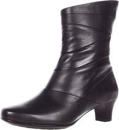 Aravon By New Balance Women's Erica Boots Black Size 10.5N