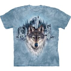 Tricouri The Mountain – Tricou Blue Moon Wolves