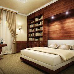 contemporary bedroom by Art