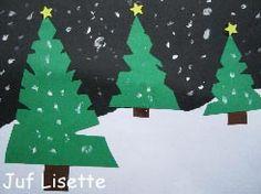 Kerst Winter Activities, Preschool Winter, Christmas Crafts For Kids, Christmas Tree, Grade 1 Art, Winter Project, Nouvel An, Paper Clip, Jingle Bells