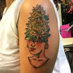 Did this cute #pothead tattoo yesterday. This was a lot of fun. - http://ift.tt/1HQJd81