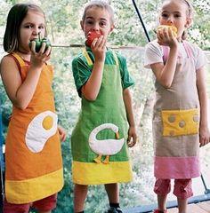 DIY Aprons For Kids