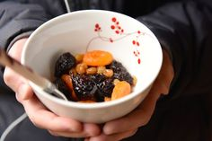 Honeyed & Spiced Dried Fruit Compote; A Tu B'Shvat Seder Sweet & SIgnificant