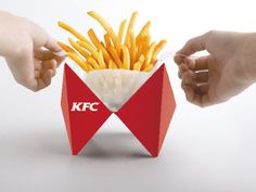 KFC Take-Out Packaging by Ivy Jin, via Behance.  I think it's brilliant!