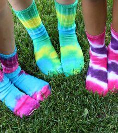 Twinkle Toes Tie-Dyed SocksTwinkle Toes Tie-Dyed Socks
