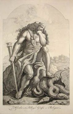 Image result for hercules  roman dragon