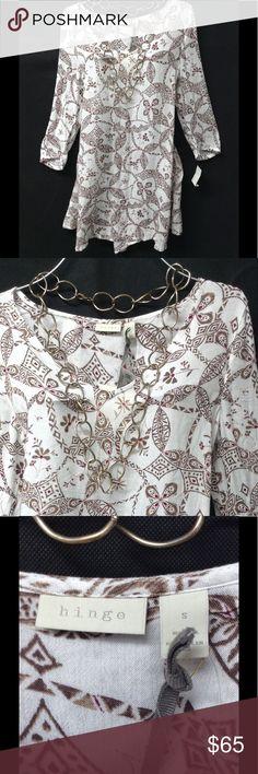 """$79 Hinge floral dress S MSRP $79 - waist 21"""" - hips 25"""" - length 32"""" hinge Dresses"""