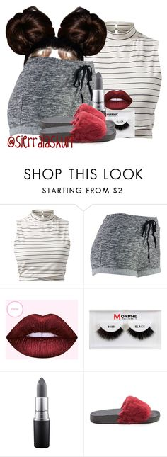 """Simple Not Basic. (part 2)"" by sierralashun on Polyvore featuring Lime Crime, Morphe and MAC Cosmetics"