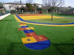 Que saber sobre el nuevo suelo para parques infantiles con césped artificial? desde ALLGrass Superficies Sostenibles #cesped_artificial_parques