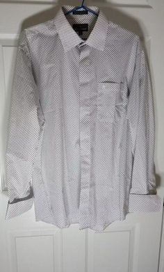 Stacy adams white dress shirts.