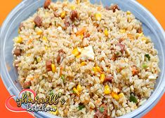 Fried Rice Meat Loaf with Veggies Easy Recipes, Easy Meals, Meatloaf, Fried Rice, Fries, Veggies, Ethnic Recipes, Food, Easy Punch Recipes