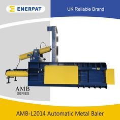 UK Enerpat Metal Baler Machine. Is ideal for pressing kinds of metal scrap, includes non ferrous and ferrous metals, such as aluminum, copper, stainless steel, iron, steel etc.  #metal #recycling #recycle #reuse #reduce #nonferrous #ferrous #metalrecycling #baler #balingpress #compactor #compress #press #enerpat #UKenerpat #green #savemoney #business #machine #machinery