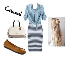 Gone Shopping by caitlynyd on Polyvore featuring polyvore moda style Boohoo Vionic Coach fashion clothing