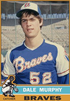 Dale Murphy played for the Atlanta Braves from 1976 - 1993. Remember seeing him play at the old Fulton County Stadium back in the 80s. Braves won that game, unusual back then.