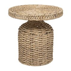 Tavolino in rattan Camo Camo, Rattan Side Table, Water House, Water Hyacinth, Rattan Basket, Kare Design, Rattan Furniture, House Doctor, Storage Baskets