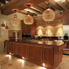 Residential lighting by Lighting Design International. Beautiful Kitchens, Shabby Chic Lighting, Kitchen Led Lighting, Kitchen Lighting Design, Kitchen Plans, Interior Design London, Kitchen Lighting, Kitchen Island Plans, Kitchen Design Plans