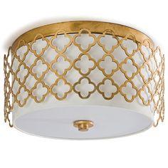 Regina Andrew Lighting Modern Luxe Gold Ceiling Mount. #laylagrayce