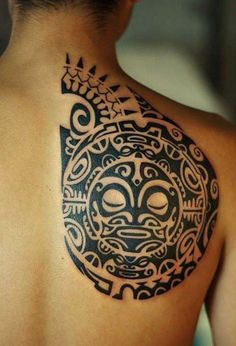 Traditional Polynesian Tattoo Design #marquesantattoosymbols