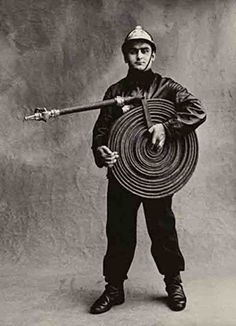 Irving Penn - 'Small Trades', The Firefighter, ca. 1950/51. S)
