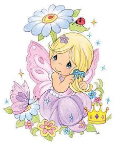 Precious Moments Classic Clip Art & Coloring Pages Precious Moments Quotes, Precious Moments Coloring Pages, Precious Moments Figurines, Image Clipart, Glitter Graphics, Illustrations, Cute Illustration, Colouring Pages, Copic