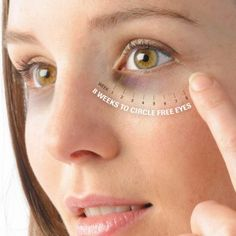 Dark circles under the eyes are common nowadays. There are many symptoms involving dark eye circles but usually these ugly looking circles appear due to skin dehydration and more often due to stres...